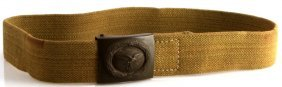 Wwii German Luftwaffe Buckle & Web Belt