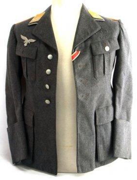 Wwii German Luftwaffe Flight Oberleutnant Tunic