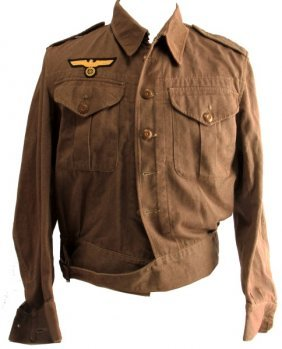 Wwii German Kriegsmarine Battle Dress British Made