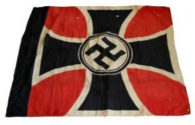 Wwii Third Reich Veterans Association Flag Nsrkb