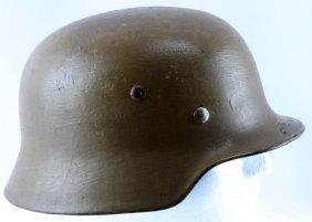 Wwii German Afrika Korps Helmet Aluminium Liner