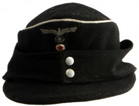 "Wwii German 116th Panzer ""windhund"" Division Cap"