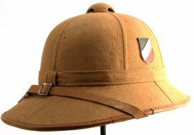 Wwii Afrika Korps Luftwaffe Pith Helmet Size 58