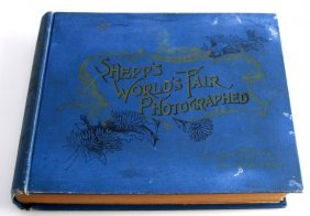 1893 Book Shep's World's Fair Photographed