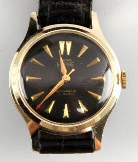 Mens Vintage Smiths Empire Jeweled Mvmnt Watch