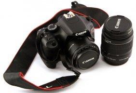 Canon Rebel T2i Eos W/ 18-55mm Canon Lens & 16gbsd