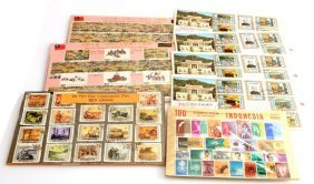 Over 150 Stamps From The Far East China & Taiwan