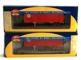 Lot Of 2 Vintage Athearn Pennsylvania Traincars