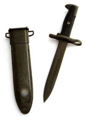 M-1 Garand Wwii Bayonet & Scabbard