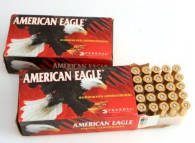 2 Boxes 100 Rounds Of American Eagle 44 Magnum