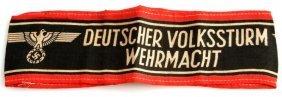 Wwii Third Reich Deutscher Volksstrum Armband