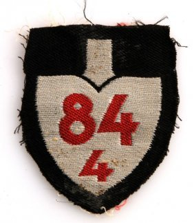 Wwii German Rad Service Unit Sleeve Patches