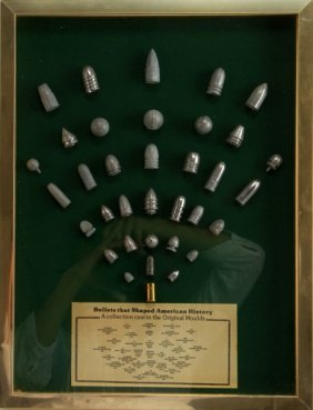 """bullets That Shaped American History"" Board"