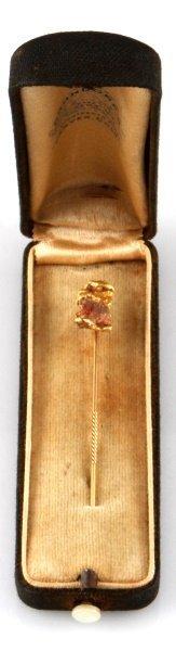 Antique Denver Colorado Gold Nugget Stickpin
