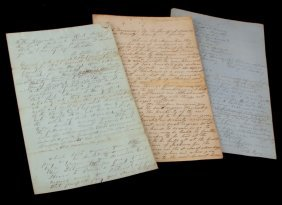 Tennessee Slave Document Lot Levy Will