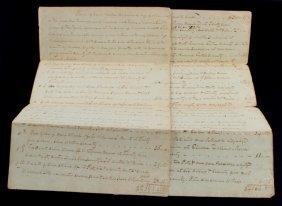 1812 Saint Martin Parish La. Slave Sale Document