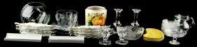 Misc Porcelain Glassware & Crystal Bonanza Lot