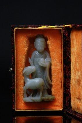 Vintage Chinese Jade Carving