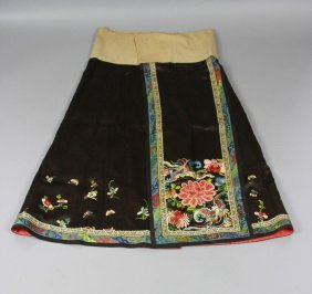 Antique Chinese Lady Skirts