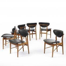 Finn Juhl Dining Chairs, Set Of Six