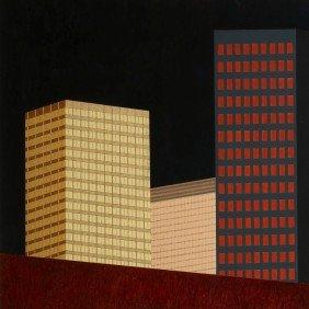 Robert Herrmann Night Buildings