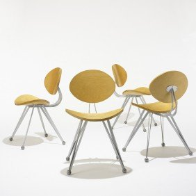 Ron Arad Anonimus Chairs, Set Of Four