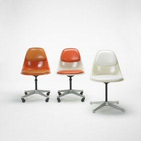 Charles And Ray Eames PSCs, Set Of Three