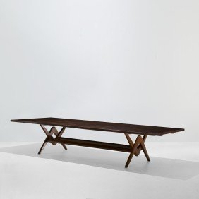 Le Corbusier And Jeanneret Conference Table