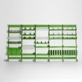 Richard Rogers And Renzo Piano Shelving System