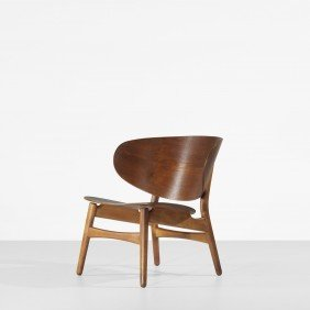 Hans Wegner Shell Lounge Chair