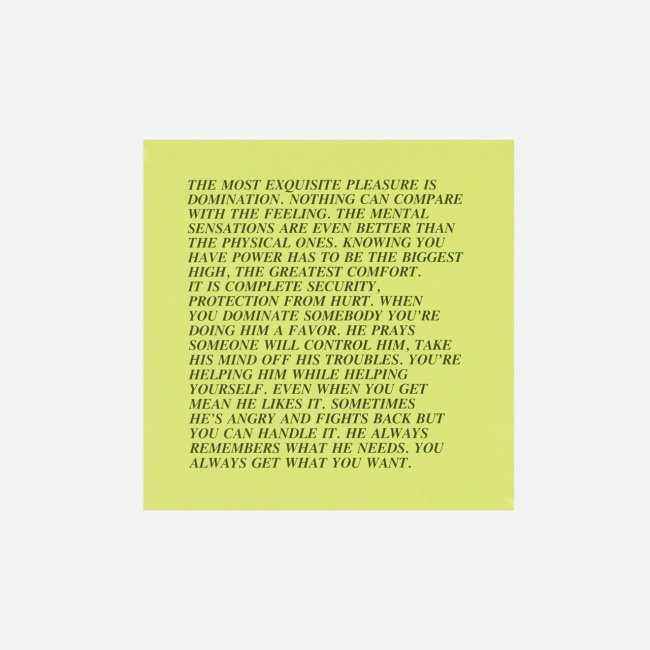 Jenny Holzer Works Go to Auction in Los Angeles