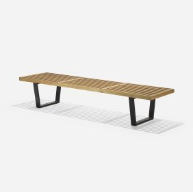 George Nelson & Associates Slat Bench, Model 4692