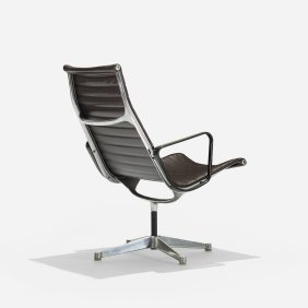 Charles And Ray Eames Aluminum Group Lounge Chair