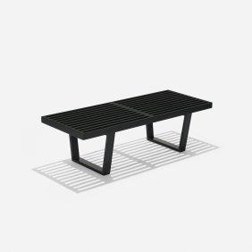 George Nelson & Associates Slat Bench, Model 4690