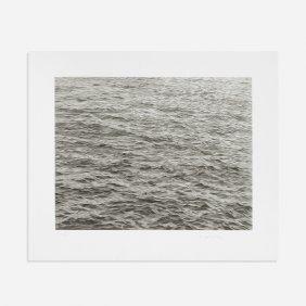 Vija Celmins Ocean With Cross #1