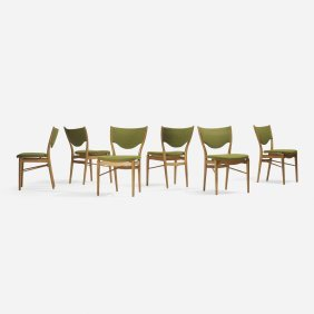 Finn Juhl, Dining Chairs, Set Of Six