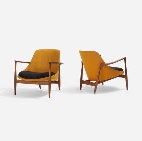Ib Kofod-larsen, Elizabeth Chairs, Pair