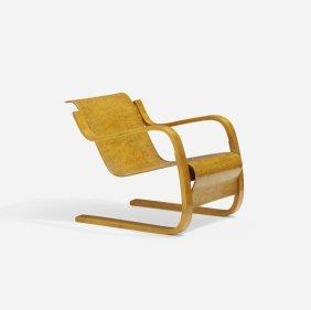 Alvar Aalto, Cantilever Lounge Chair, Model 31/42