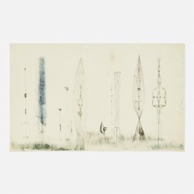 Harry Bertoia, Untitled (monotype)