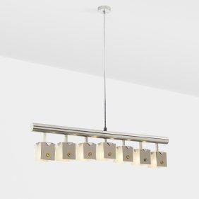 Angelo Lelli, Murrine Ceiling Lamp