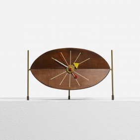 George Nelson & Associates, Watermelon Clock 2219d