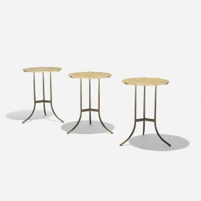 Cedric Hartman, Occasional Tables, Set Of Three