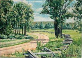 Warren Oil On Canvas