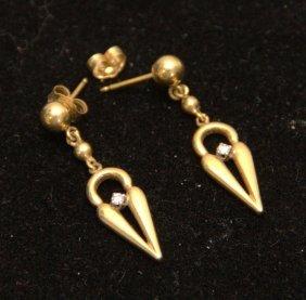 14kt Yg Earrings