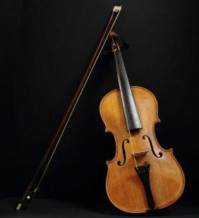 After Antonius Stradivarius Handmade Violin