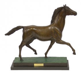 Prince Monjo Bronze Horse