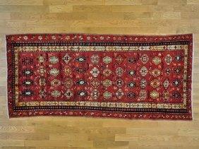 Persian Ardabil Mint Cond Wide Runner Handmade Rug