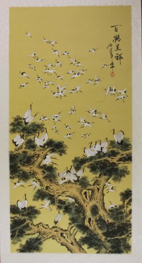 A Chinese Thousand Crane
