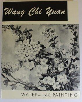 A Book Chinese Water-ink Painting By Wang Ji Yuan