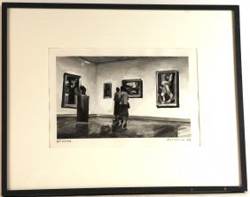 Tempera On Paper, Art Viewers, Rush Brown